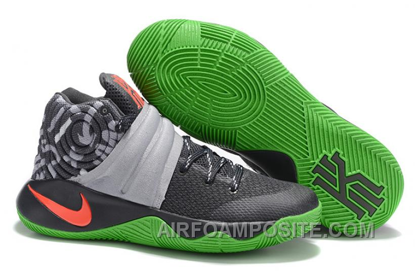 Nike Kyrie 2 Sneakers Grey Green TWSZM