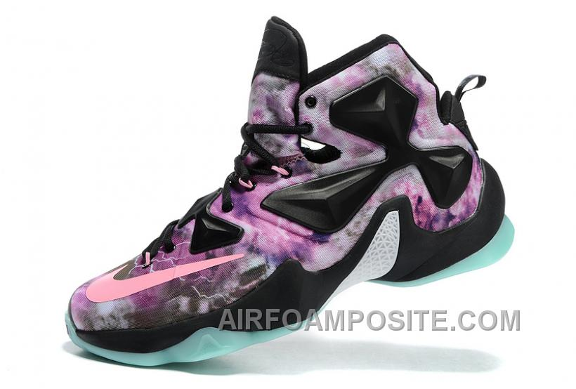 Nike LeBron 13 Black Pink Purple C3siW