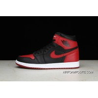 9c25e4a305adc4 Pure OG Air Jordan 1 Retro High Bred AJ 1 Forbidden To Wear Black Red  Colorways