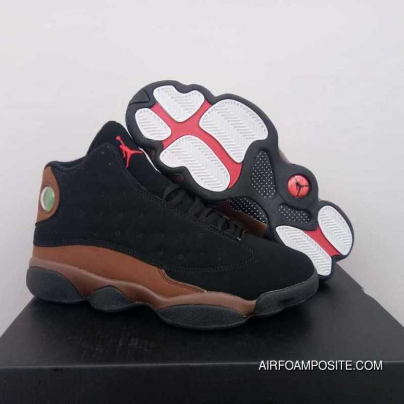 timeless design a99e7 b1177 Jordan 13 Black Brown New Release
