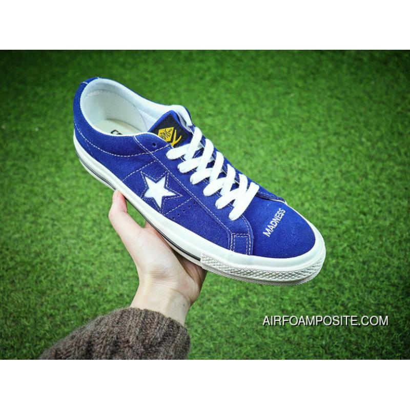 abba3dfe0cc5 Shawn Make Brand Manage Madness X Converse One Star Converse Chuck Taylor  1970 S Sulfide Sneakers Navy Blue White C-157712 Women Shoes And Men Shoes  Sulfide ...