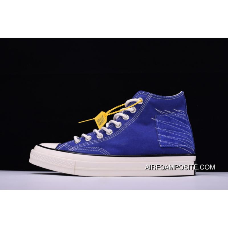 2c8cc06464ef Level Hyx61808 Simplified NBHD Converse Chuck Taylor All Star 70 Hi French  Workwear High Canvas Vulcanized Sneakers Corduroy Patch Blue 158604 C Free  ...