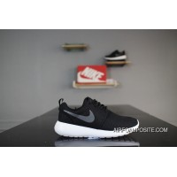 Nike Roshe Run One 511882010 Black And White Grey Hook Olympic London Super Soft Foam MD Outsole Mesh Shoe Pad Highest Quality The Most Hot Summer Sale Store Online
