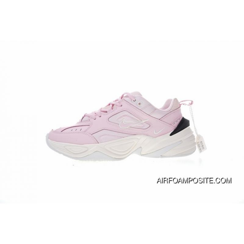 meet ca240 e3383 ... Original Here Version Nike M2K Tekno Pink Terms Retro Fashion All  Travel-match Dad Sneakers Clunky Sneaker Dad Shallow Pink Shoes Black WHite  AO3108-600