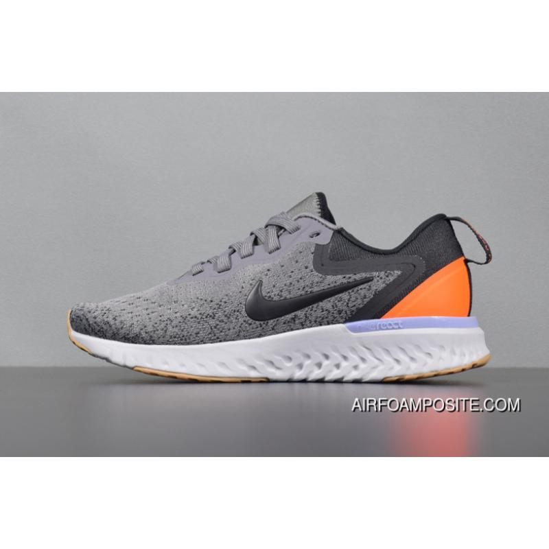 3564bc917c511 USD  92.71  250.33. Outlet The React 2.0 React 2 Woven FLYKNIT AO9820-004  React Grey Yellow Nike Odyssey ...