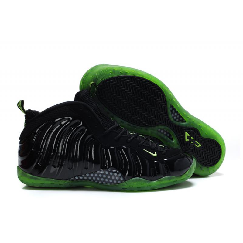 quality design 8b2ab eb0b9 Nike Air Foamposite One Black Electric Green