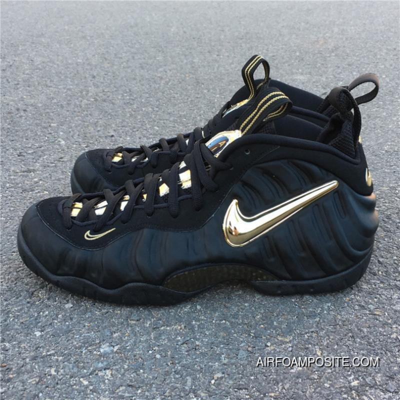 size 40 21bdb ff615 USD  88.84  266.53. Nike Air Foamposite Pro Black Metallic Gold ...