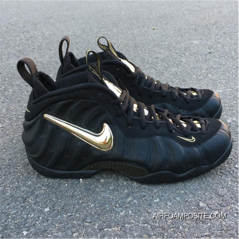 a457392f26596 ... Nike Air Foamposite Pro Black Metallic Gold Black Gold Bubble Is  624041-009 Outlet ...