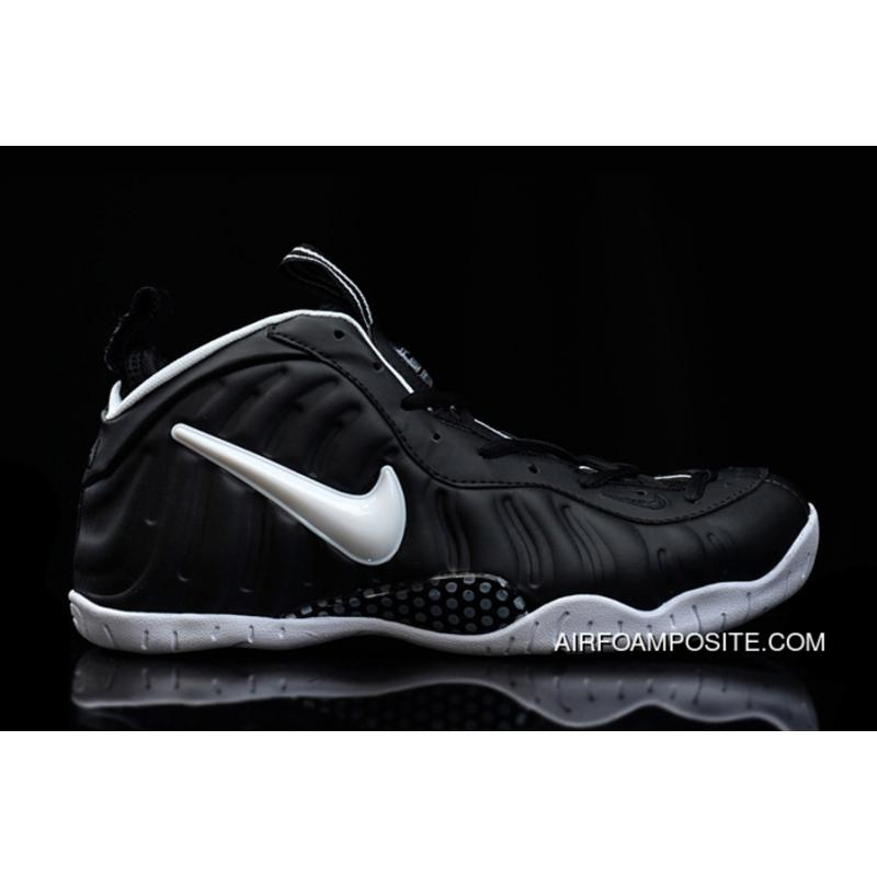 the latest 79c9d 69375 Black-White Nike Air Foamposite Pro Discount