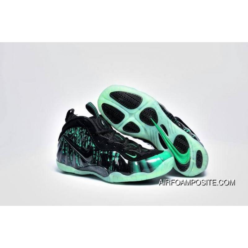 timeless design 53af3 d7412 USD  80.45  281.56. Girls Nike Air Foamposite Pro Black-Electric Green  Discount ...