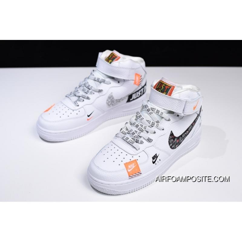 new style 5ffd7 51c1c Just Do It Just Do It Nike Air Force 1 Mid One Classic All-match ...