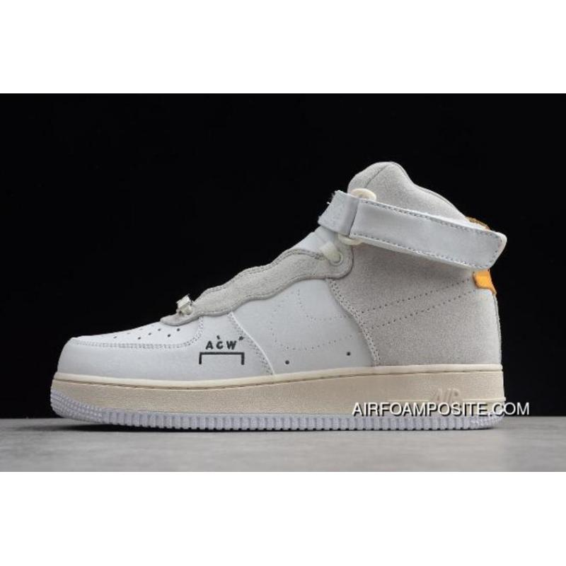 best website 8c8ed 0ce7d A-Cold-Wall X Nike Air Force One High Acw Samuel Ross AQ5644-991 Outlet