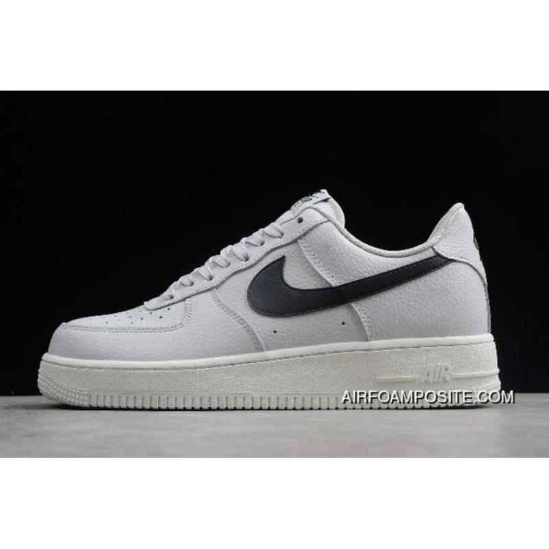 uk availability 88364 658ac Nike Air Force One '07 Af1 Vast Grey/Black-Summit White AA4083-008 New  Release