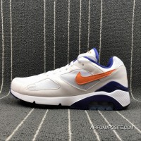 80f46607031 Nike Air Max 180 Retro Zoom Casual Running Shoes 615287-101 Size New Style