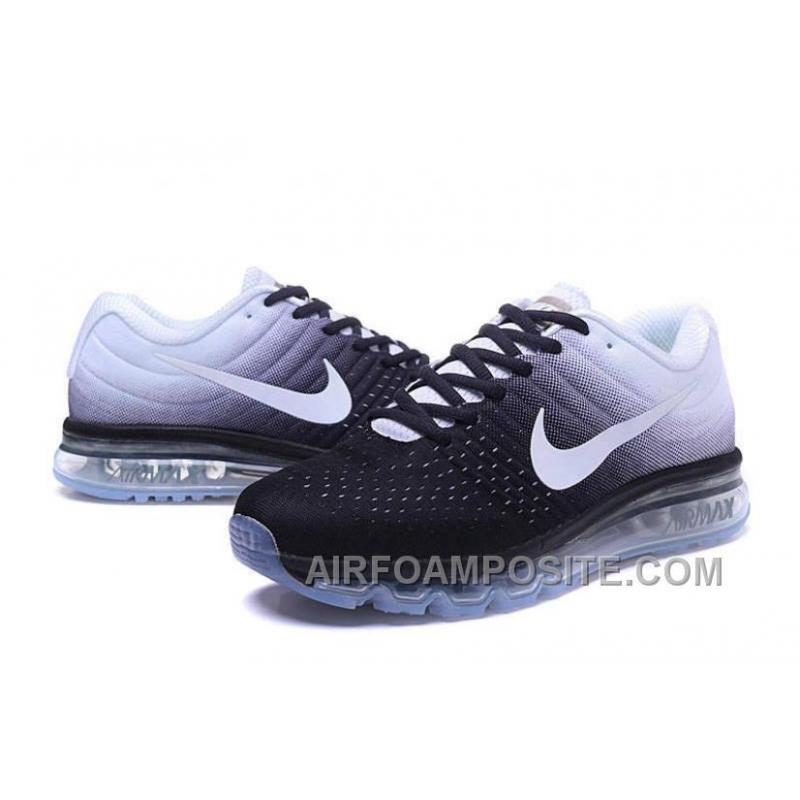 check out 8624b 1ad2d ... Authentic Nike Air Max 2017 Black White White Top Deals 7ajenwM ...