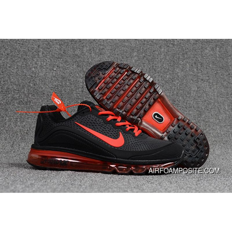 6c7f737aa6 Nike AIR Max 2017.5 40-47 Black Red New Release, Price: $88.89 ...