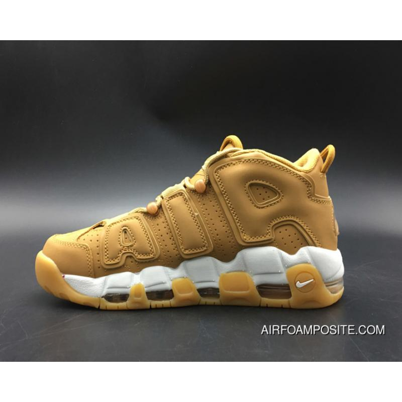 Nike Air More Uptempo PRM Wheat For Sale