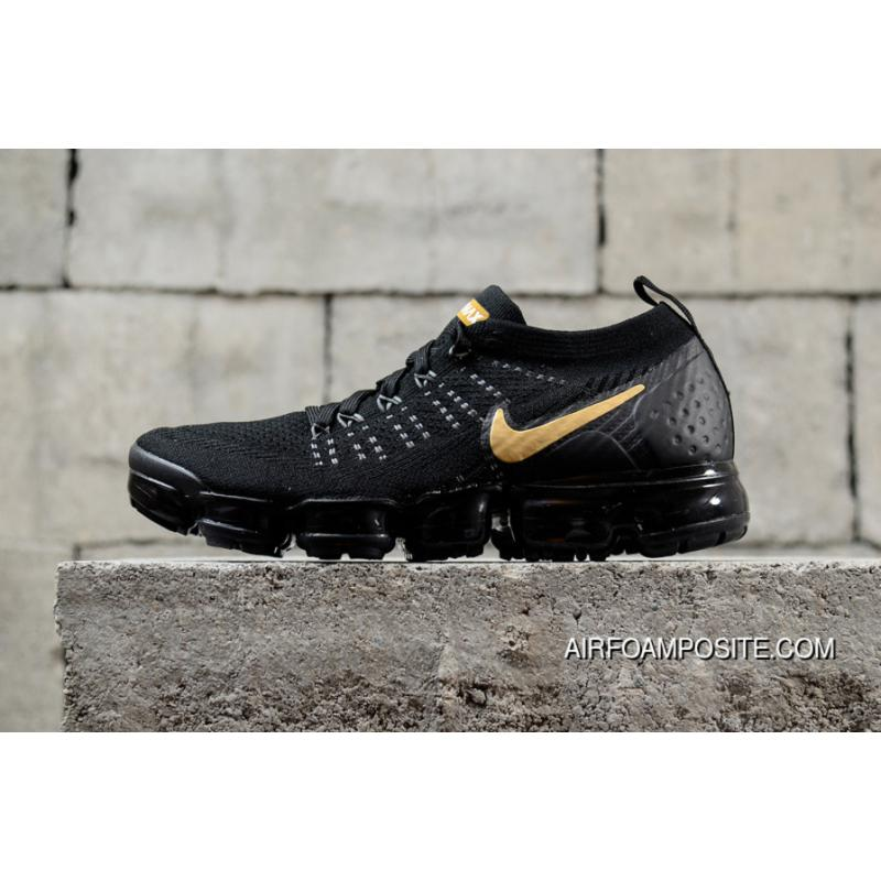 uk availability 80ca4 0be19 Nike Air Vapormax Flyknit 2018 2.0 Zoom Black Gold 942842-009 Latest