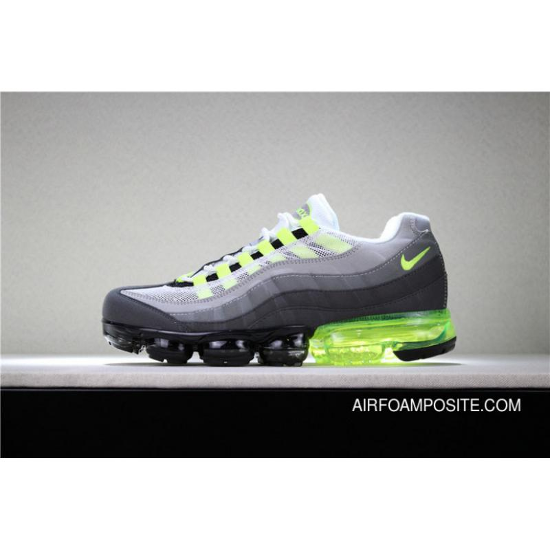 new product de766 c10d9 Nike Air Max VaporMax 95 NEON GREEN AJ4970-071 MEN Discount