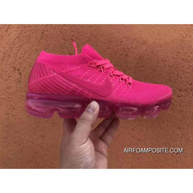 premium selection 6772a 73f4f Nike WMNS AIR VAPORMAX FLYKNIT The HYPER PUNCH SKU 849557 604 Red Roses Top  Deals