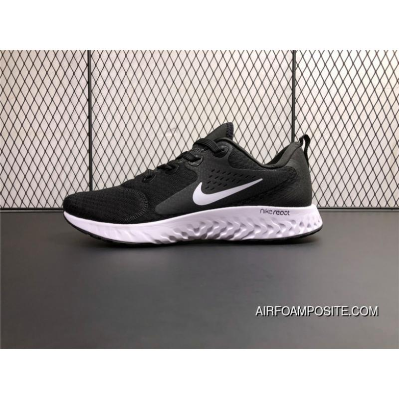 0a9eeedb4b164 USD  89.11  311.90. AA1625-001 Nike Epic React Flyknit Foamposite Woven  Light Casual Running Shoes Black And White ...