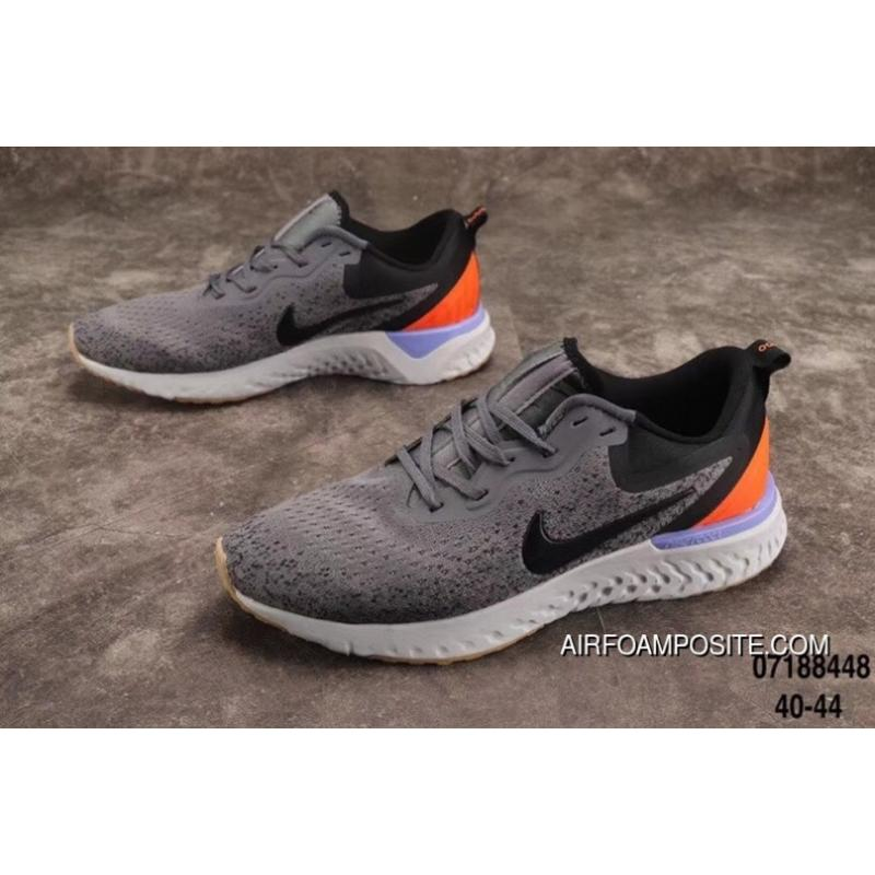 7899364b67335 6 Color React Nike Epic React Flyknit New Technology TPU Foamposite  Particles Woven Running Shoes AQ0067 High Quality Can Compare The Code 666  Free Shipping