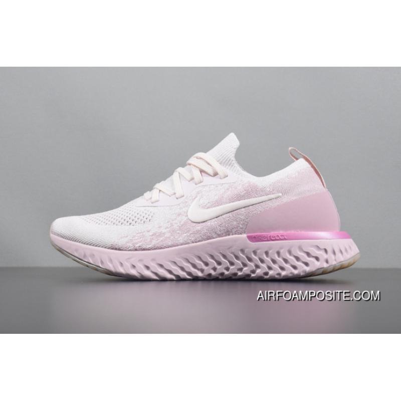 6ae3a865ba782 New Release The React The React 1 Woven FLYKNIT AQ0070-600 React All Pink NIKE  EPIC React FLYKNIT Foamposite Particles React Casual Sport Running Shoes