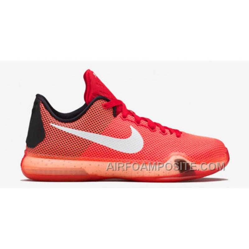 f7411543b757 ... italy cheap nike kobe 10 shoes university red white bright crimson hot  lava 89110 f43a4