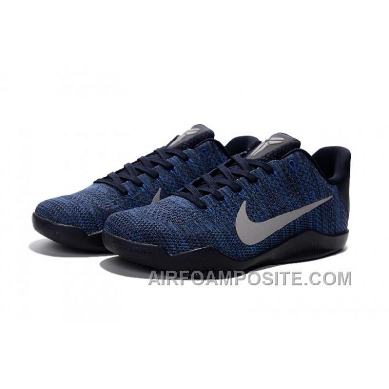 brand new cbcff c5215 ... Discount Nike Kobe 11 Royal Blue Black Silver