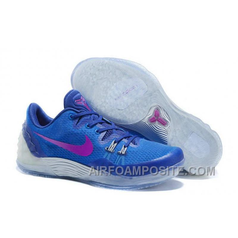 premium selection 38aeb 4bd8f USD 70.03 231.08. Cheap Nike Zoom Kobe Venomenon 5 Basketball Shoes Soar  Deep Royal Blue Wolf Grey Vivid Purple ...