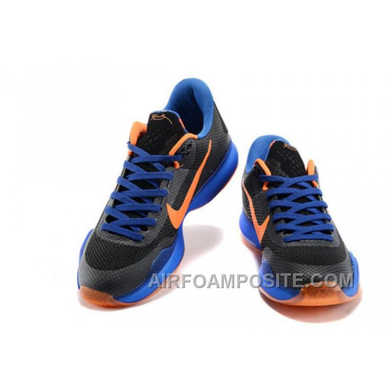 save off b4b73 9007a ... Nike Kobe X 10 Away Black Blue Orange New ...