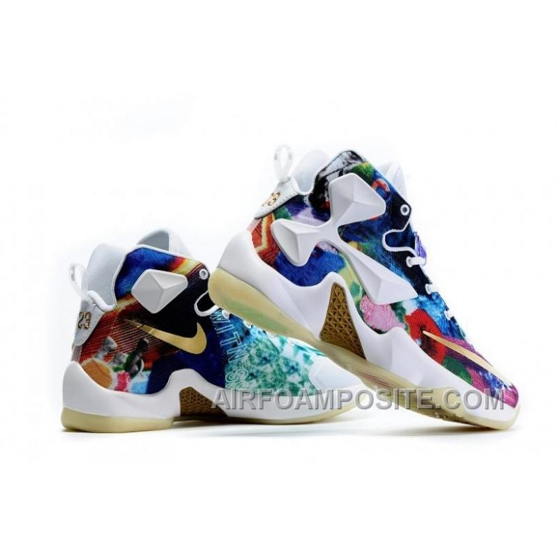 "207cce779544 ... Girls NIKEiD LeBron 13 ""25K"" Glow In The Dark Shoes For Sale KeWet ..."
