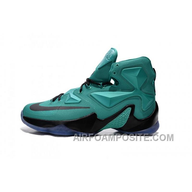 huge discount 36981 7fa85 Cheap Nike LeBron 13 Hyper Turquoise Black Metallic Shoes NcsWt