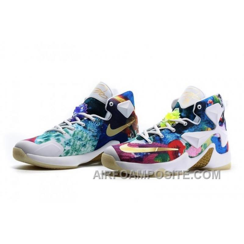"6e8dd93a9fd1f0 ... Girls NIKEiD LeBron 13 ""25K"" Glow In The Dark Shoes For Sale Bdjwd ..."