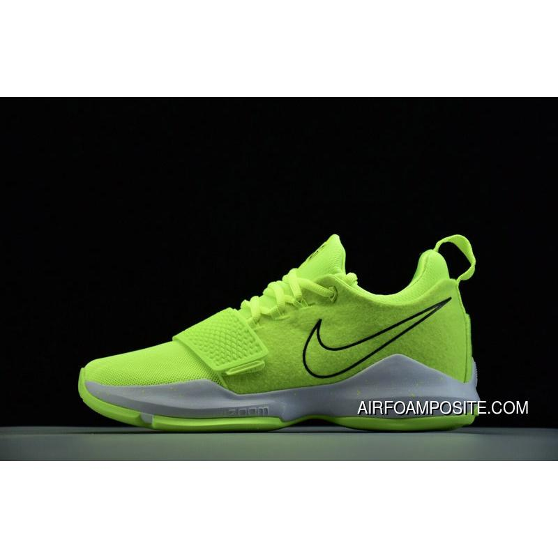 quality design 213d7 6776f Nike Pg 1 Volt Black White 878628 700 Basketball Shoes For Sale