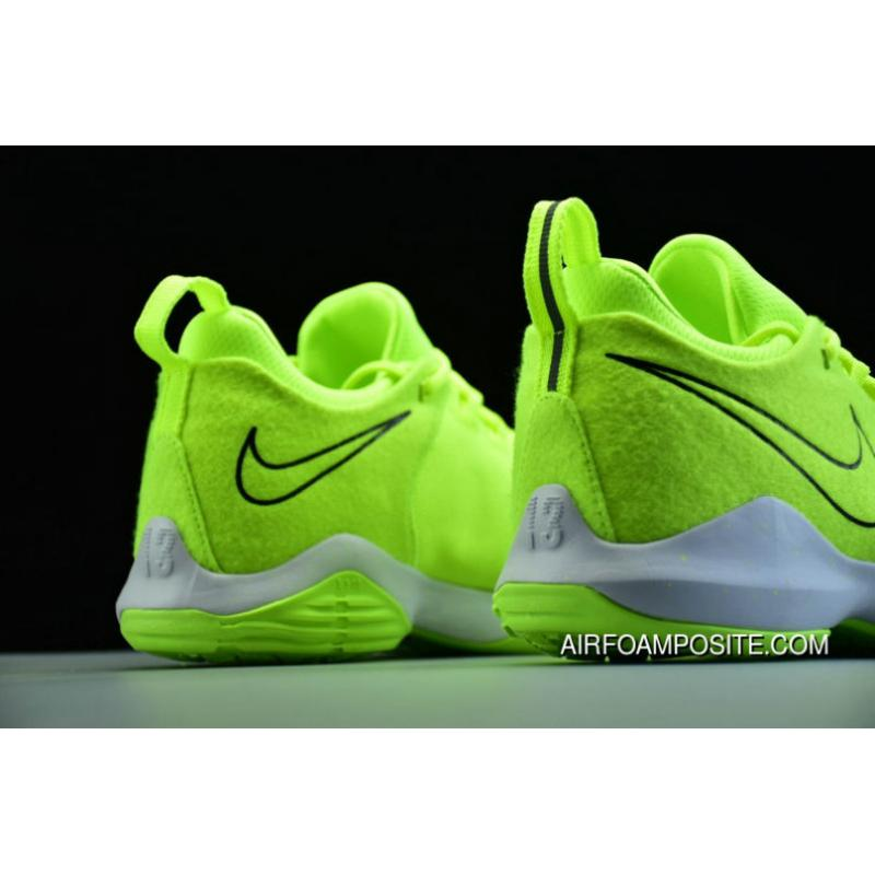 3530a269c912 Nike Pg 1 Volt Black White 878628 700 Basketball Shoes For Sale ...