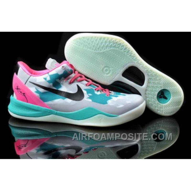 online retailer 91faa 1fb6c 854-215555 Nike Zoom Kobe 8 VIII Shoes Grey Black Pink New Arrival