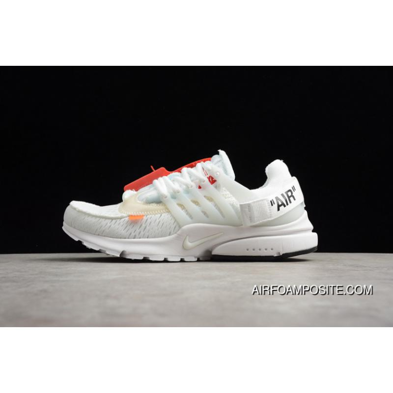 3d78411b05 USD  87.52  297.58. New Style AA3830-100 All White Off-White X Nike Air  Presto ...