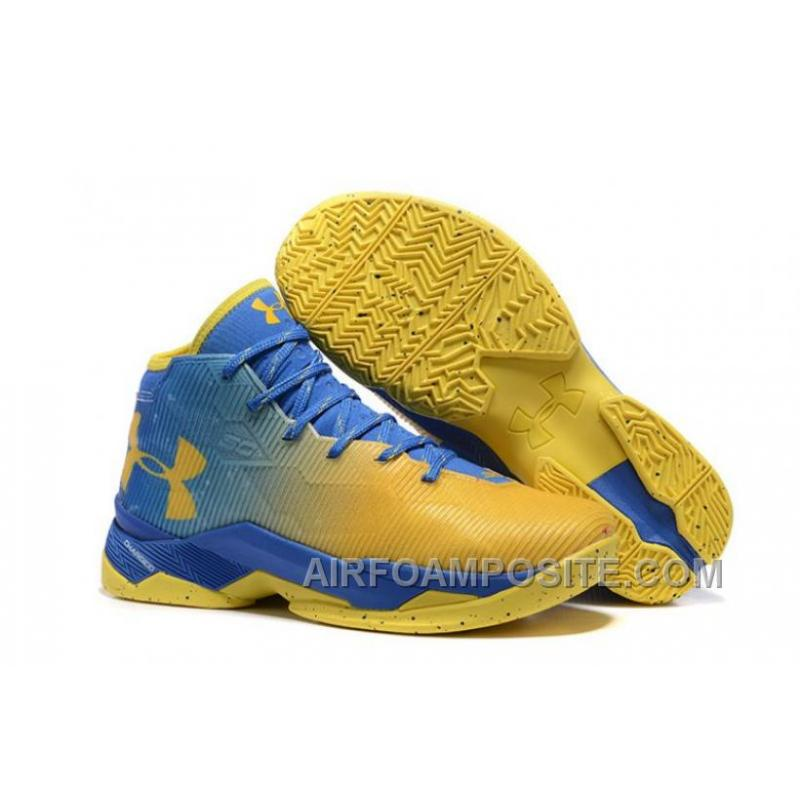 more photos 598bf b73e2 UA Curry 2.5 Under Armour Stephen Curry 2.5 White Yellow Blue 8xBYQ