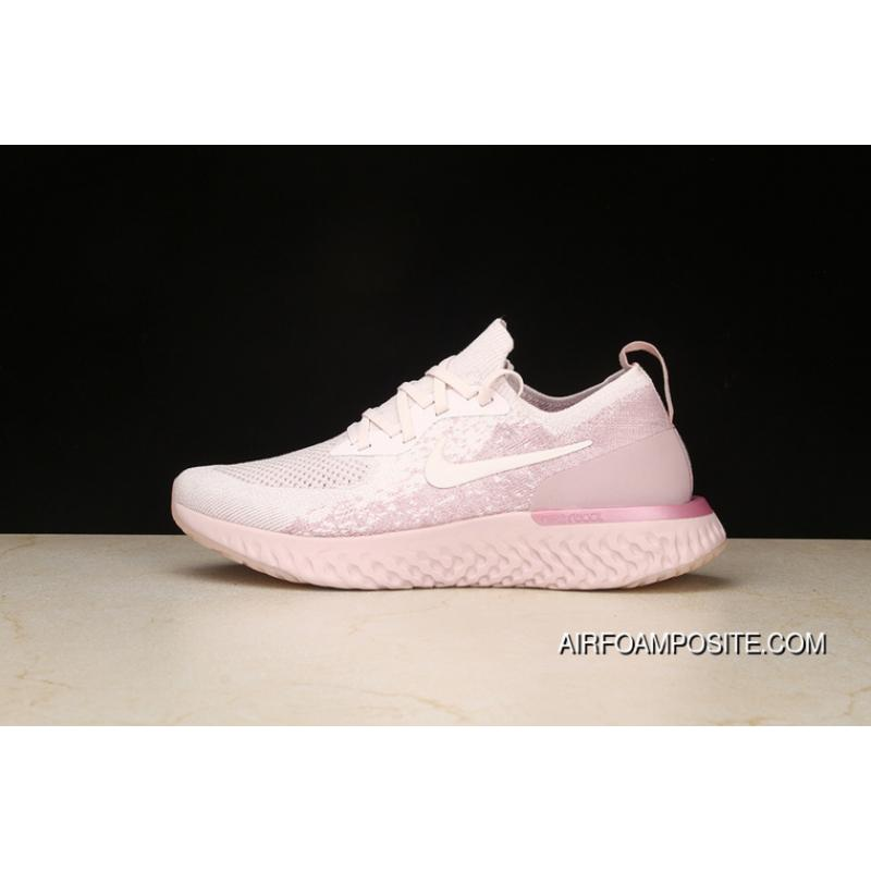 P16 Nike Epic React Flyknit Foamposite Woven Light Casual Running ... 5e529a9dc093