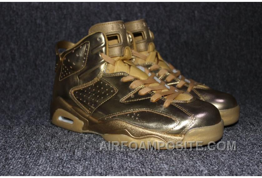 on sale d177a 26d71 Air Jordan 6 All Gold Lastest Kxj5j