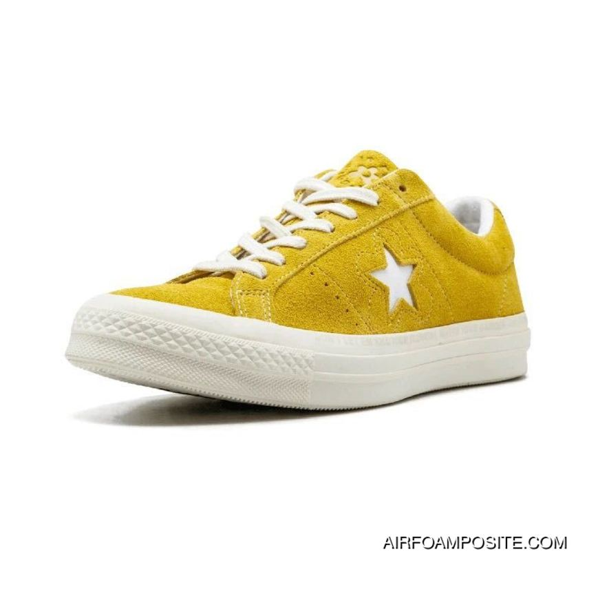 Converse One Star X Golf Le Fleur Collaboration Limited Deerskin Bee