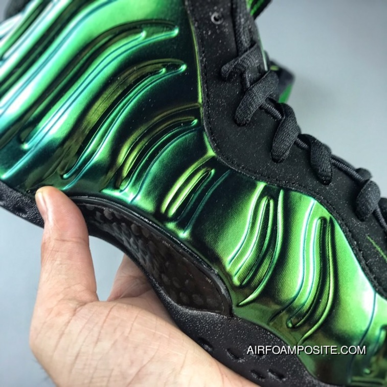 quality design 29db0 0334c Copuon He Was Green Holographic Spray Multi Color NIKE AIR FOAMPOSITE ONE  314996-301