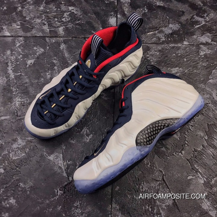 buy online fe77d 7857e Spray Olympic Spray Nike Air Foamposite One Olympic Team USA White Spray  Size 575420-400