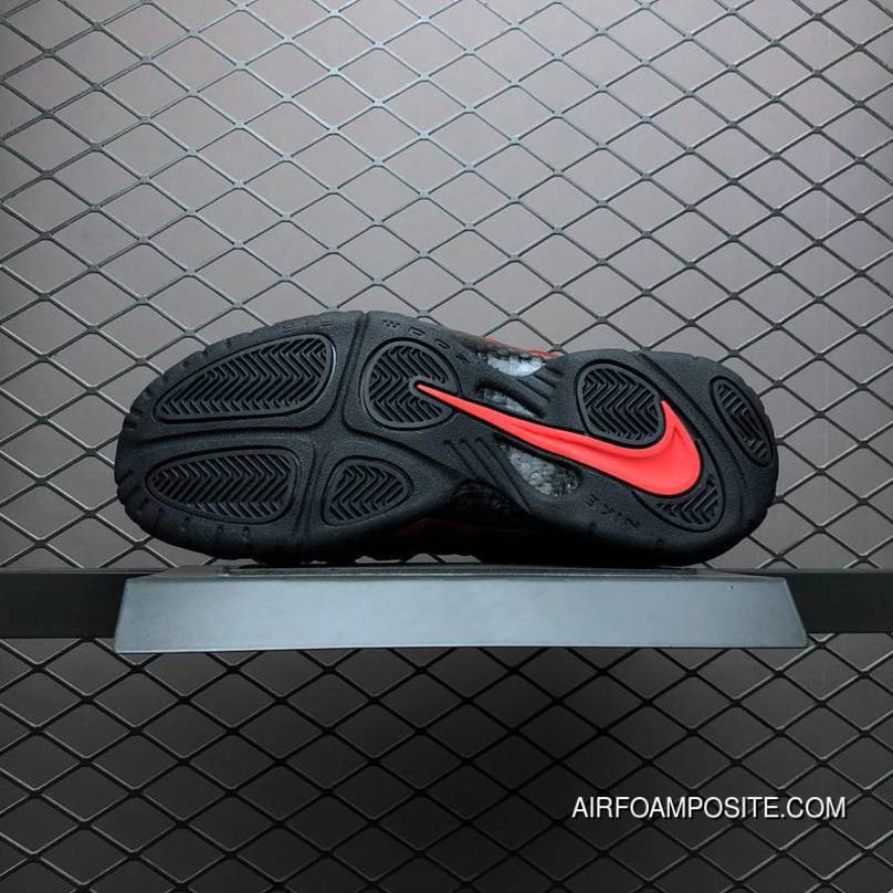 finest selection a036b b6161 Online Hyx600 Nike Air Foamposite PRO Black And Red By Cracked Red  624041-604, Price   89.38 - Nike Air Foamposite One - Nike Foamposite -  AirFoamposite.Com