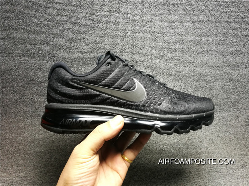eeca18b4 Outlet 2017 Nike AIR MAX 2017 855615-995 Mesh Breathable Foam Step Shoes  Men Shoes