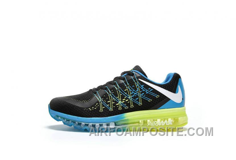 low priced 98f18 666df Authentic Nike Air Max 2017 3D Black Blue Green Discount PJhyT7