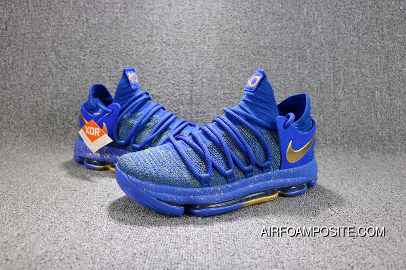 pretty nice d56bf 4d2e0 Nike KD 10 Finals PE Kevin Durant The NBA Finals MVP Champion Limited  Edition Men Shoes Top Deals
