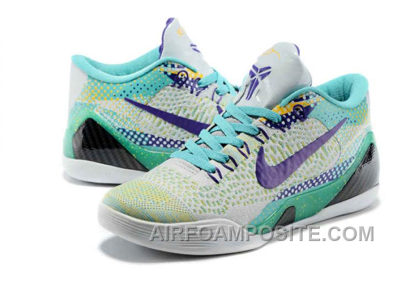 quality design fddfd b0880 ... ireland hot genuine nike kobe 9 elite low hero wolf grey court purple  sport turquoise 0bf9c ...