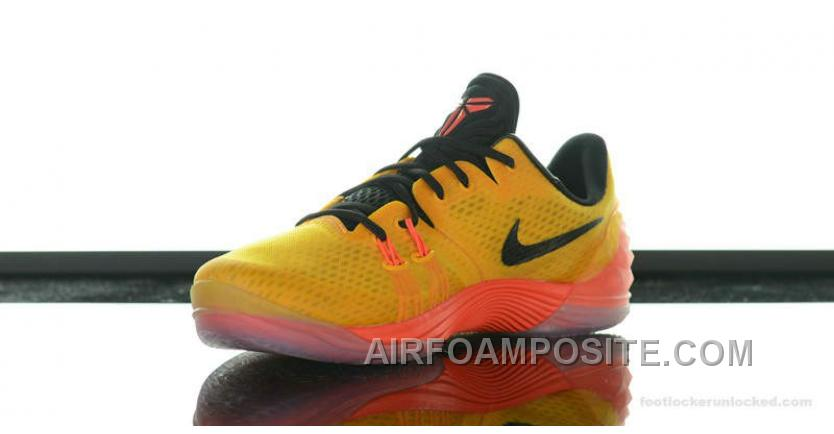 150184f54d9 Cheap Nike Zoom Kobe Venomenon 5 Basketball Shoes University Gold Black  Bright Crimson